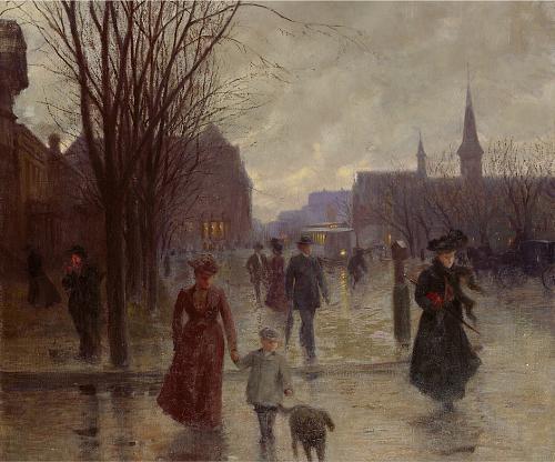 Rainy Evening on Hennepin